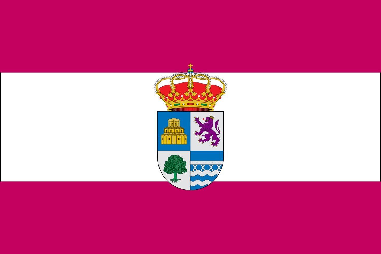 magFlags Bandera Large San Esteban de Nogales, León, España | Bandera Paisaje | 1.35m² | 90x150cm: Amazon.es: Jardín