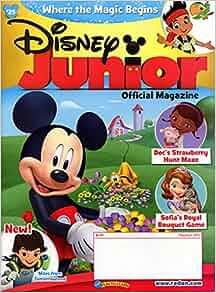 Disney Junior - Magazine Subscription from MagazineLine (Save 3%): Magazineline: Amazon.com: Books