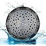 cassa bluetooth doccia SoundPEATS, cassa altoparlante portatile wireless Bluetooth impermeabile con batteria ricaricabile, supporta tutti i dispositivi Bluetooth per bagno, vasca e spiaggia (nero) (Nero)
