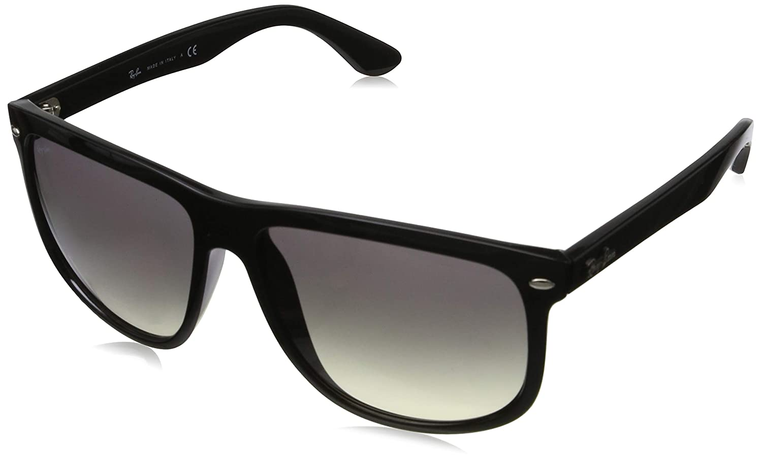 eab45e3089be0 Amazon.com  Ray-Ban RB4147 Sunglasses Color  Black Lens  Light Grey  Gradient