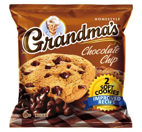 - Grandma's Soft Cookies, Chocolate Chip, 2-Count (Pack of 6)