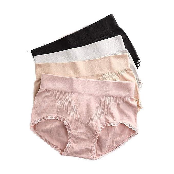3b24950f2f63 Amazon.com: Elaine Room Briefs Panties Wide Band Elastic Body-Shaper ...