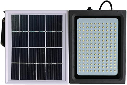 Matefield 150 LED Solar Flood Light PIR Sensor de Movimiento ...