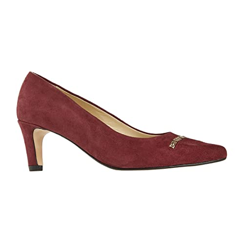 9bea11abd997 Van Dal Shoes Womens Court Burrell in Port Suede: Amazon.co.uk: Shoes & Bags