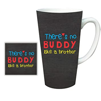Buy YaYa CafeTM Birthday Gifts For Brother Buddy Latte Mug With Coaster Combo Set Of 2 Online At Low Prices In India
