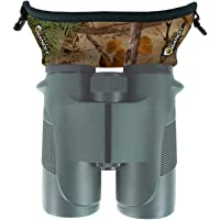 Bino Bandit - Water-Resistant Binocular Eyeshields to Block Glare and Reduce Eye-Strain- Alpine Mountain Camo