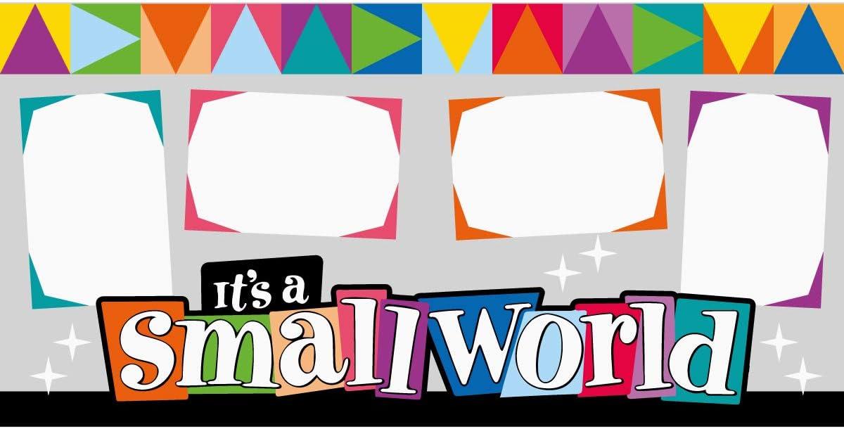 Its a Small World Disney Scrapbook Page Kit