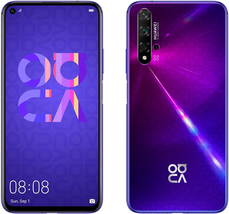 Huawei Nova 5T Dual-Sim 128 GB - Midsummer Purple: Amazon.de: Elektronik - Huawei Nova