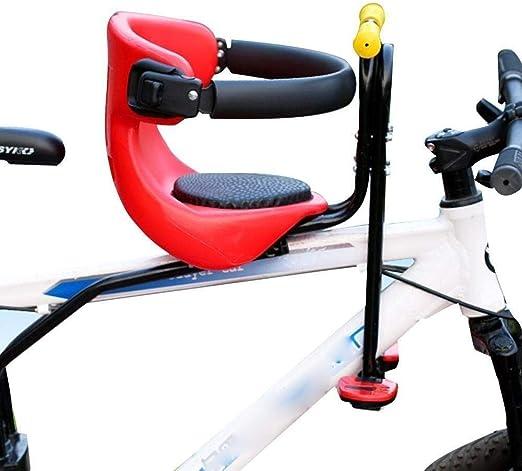 wangt Asientos Seguros para Bebés Asientos para Niños Asiento Infantil para Bicicleta Asiento Infantil para Asiento Delantero Desbloqueo Rápido Bebé con Reposapiés De Seguridad: Amazon.es: Hogar