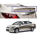 Autopearl Premium Quality Oe Type Car Spoiler For - Hyundai Verna Fluidic (Lip) (Pure-White)
