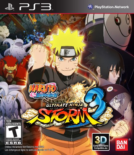 Naruto Shippuden: Ultimate Ninja Storm 3 - Playstation 3 (Naruto Video Games Ps3)
