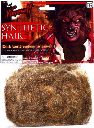 Forum Novelties Werewolf Synthetic Hair - Brown Accessory]()