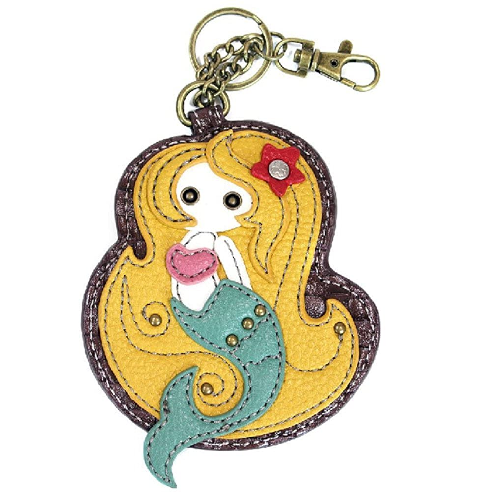 Chala Mystical Mermaid Key Chain Coin Purse Leather Bag Fob Charm New at  Amazon Women s Clothing store  4083ea5de