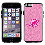 NFL Miami Dolphins Football Pebble Grain Feel No Wordmark iPhone 6 Case, Pink