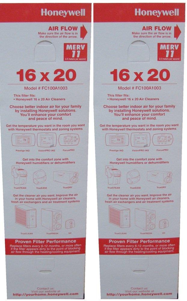 Honeywell FC100A1003 16 X 20 Media Air Filter, MERV 11