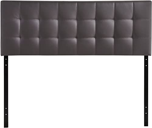 Modway Lily Tufted Faux Leather Upholstered King Headboard