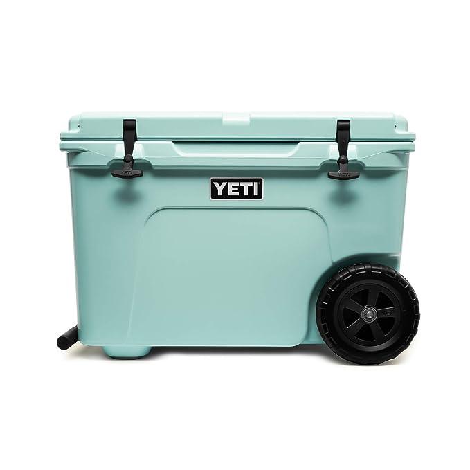 YETI Tundra Haul Portable Wheeled Cooler, Seafoam best ice chests