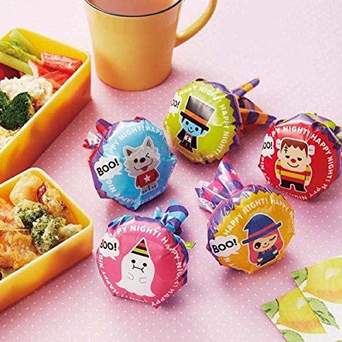 Halloween bento box food rice ball wrapping papers]()