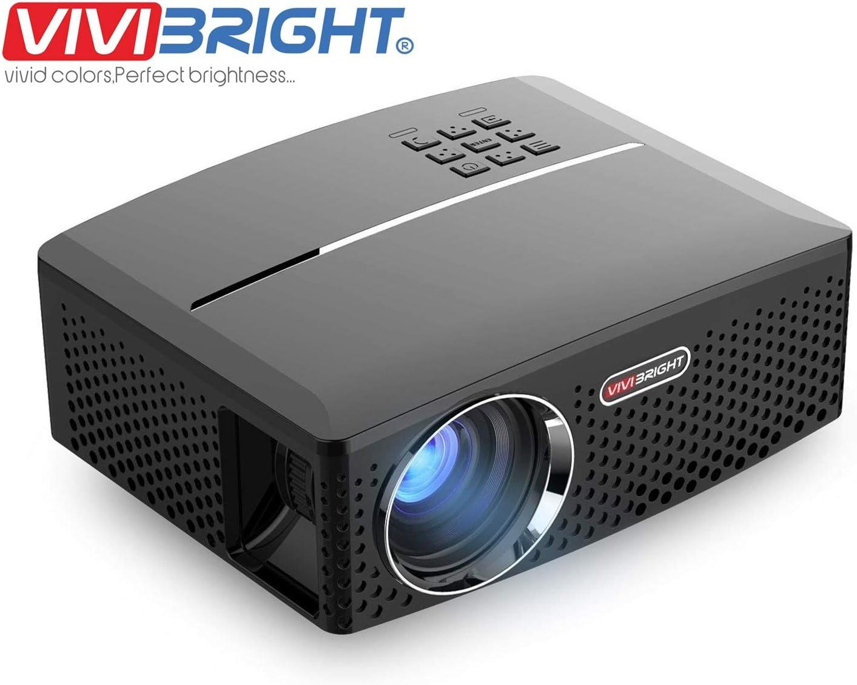 4. ViviBright GP80 1800LM Portable LED Projector