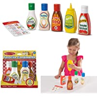 Melissa and Doug MD4317 Favourite Condiments Container Set,Other,4317