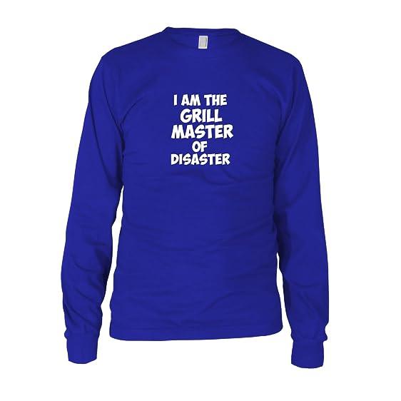 I am the Grill Master of Disaster - Herren Langarm T-Shirt, Größe: