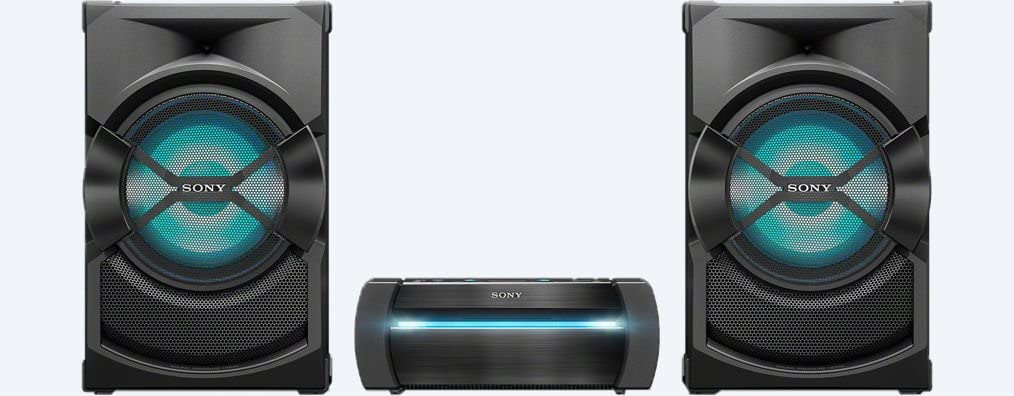 Sony High-Power Home Audio System with Bluetooth