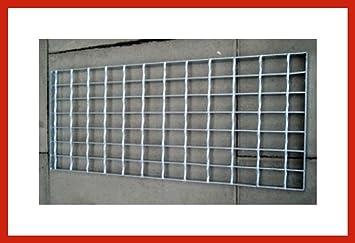 Gitterrost Laufrost Stahl - Verzinkt ca. 25 cm breit in 42 bis 200 ...