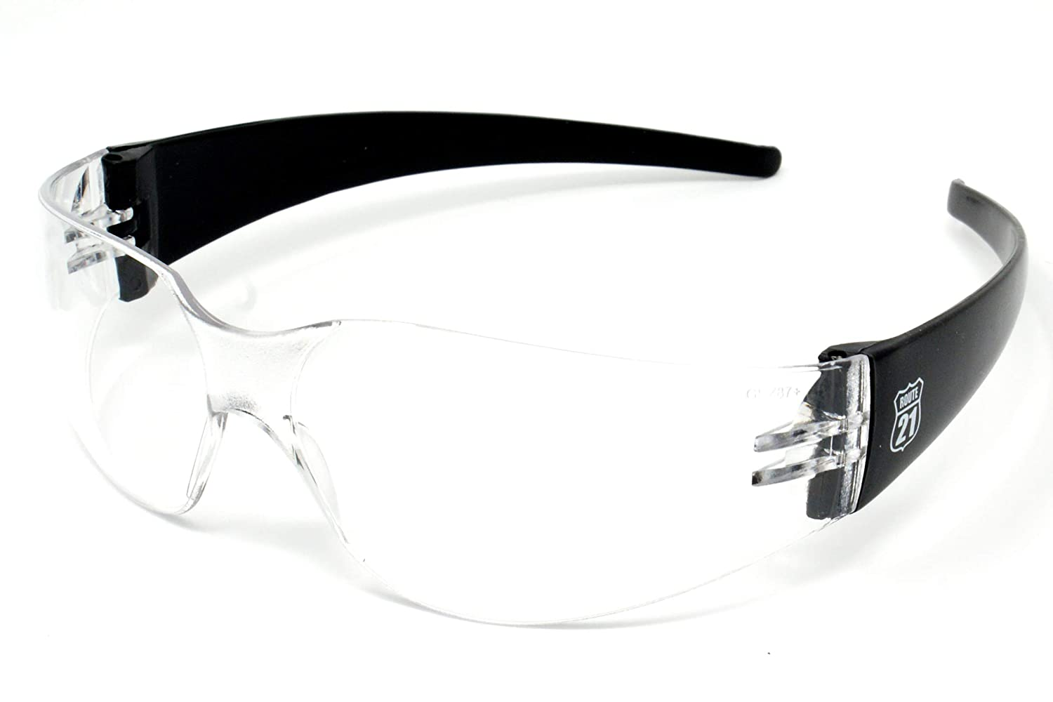 Antifog shatterproof Clear wraparound UV400 Sports glasses/sunglasses and Free microfibre storage pouch