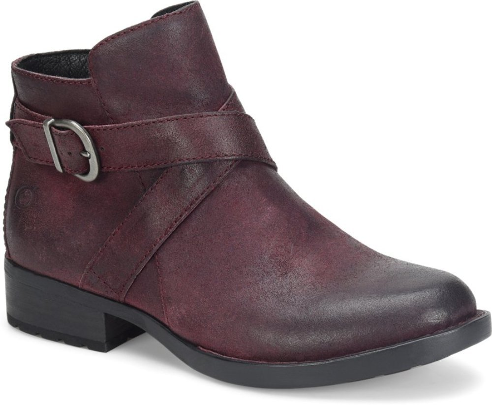 Born Womens - Trinculo B01N9PXWB3 8.5 B(M) US|Burgundy Distressed
