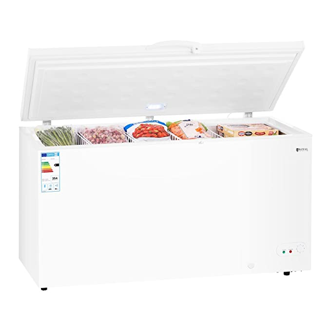 Royal Catering Arcón Congelador Profesional RCFZ-459 (459 L, A+ ...