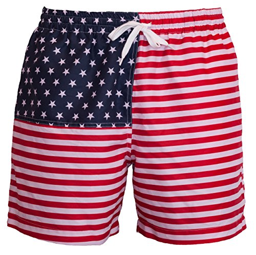 - Meripex Apparel Men's American Flag Swim Trunks: The Old Glory's (Cheaper Than Chubbies) (Large, The Old Glory's)