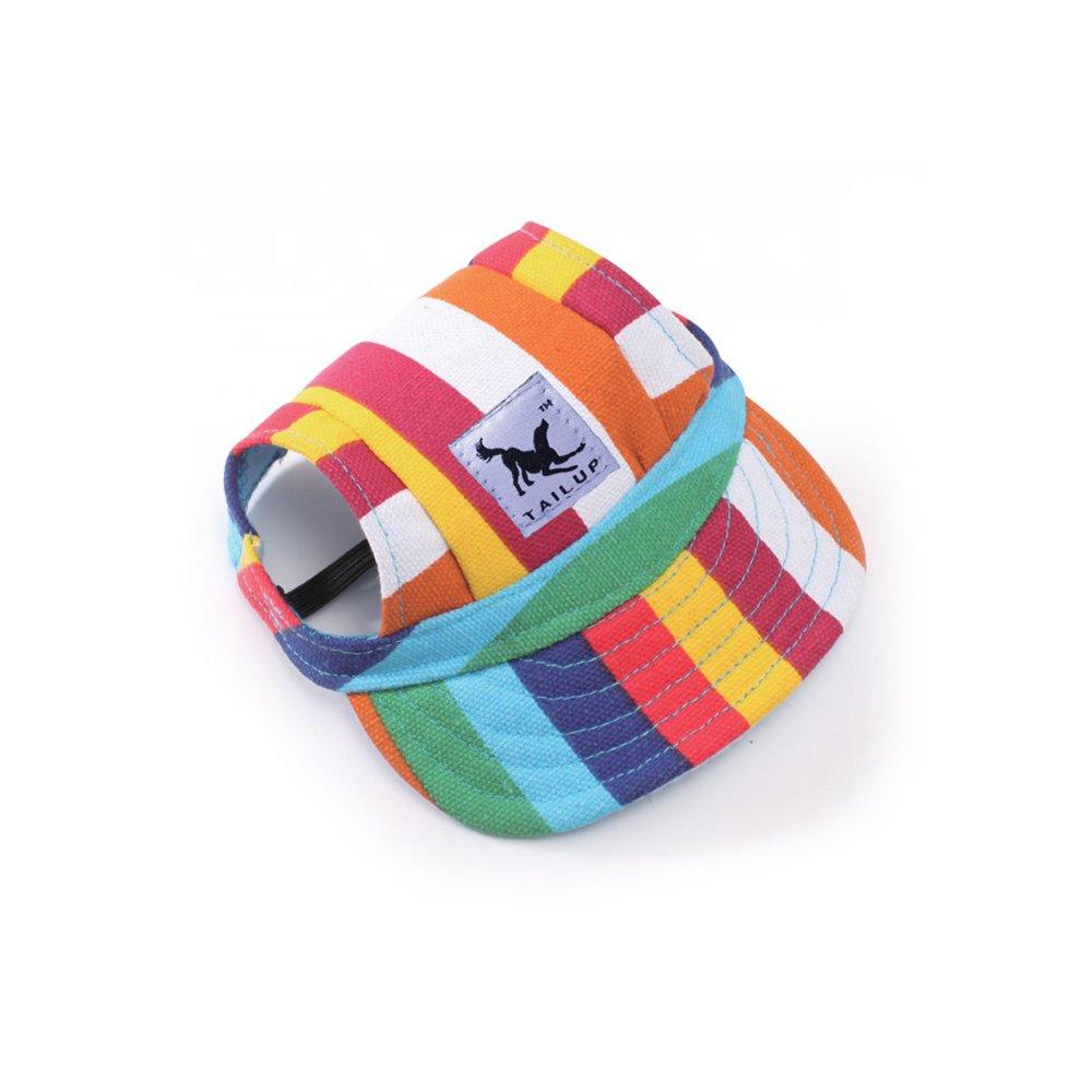 Eierpi - Chapeaux de soleil pour chiens, chat mignon, petit animal de compagnie - Casquette de baseball en coton décontracté pour extérieur - Chapeau de fête pour chihuahua, terrier du Yorkshire, animaux domestiques