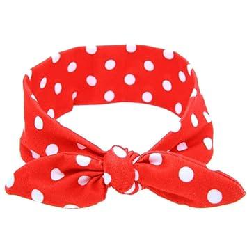 Amazon Com Baby Headbands Bestpriceam Baby Girls Rabbit Bow Ear