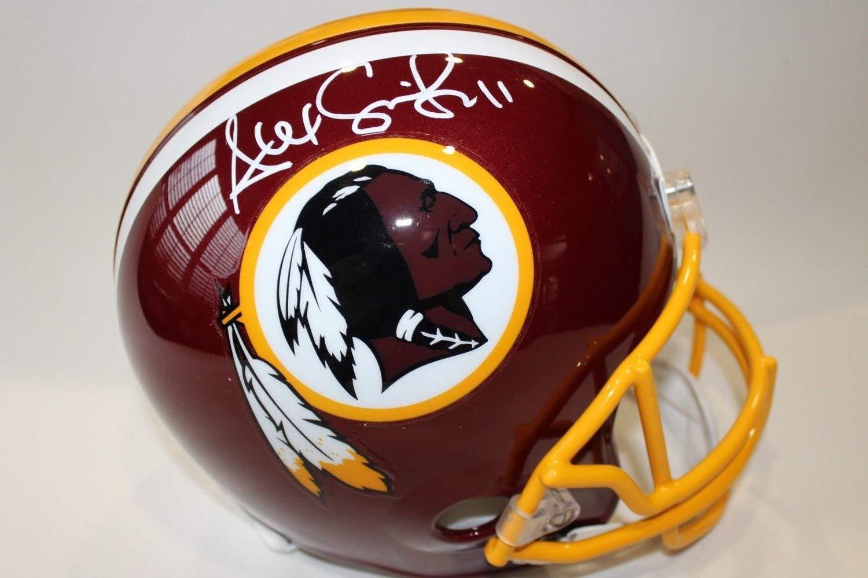 e90a397af Amazon.com: Alex Smith Autographed Signed Washington Redskins Full-Size  Helmet Beckett Authentic COA Auto: Sports Collectibles