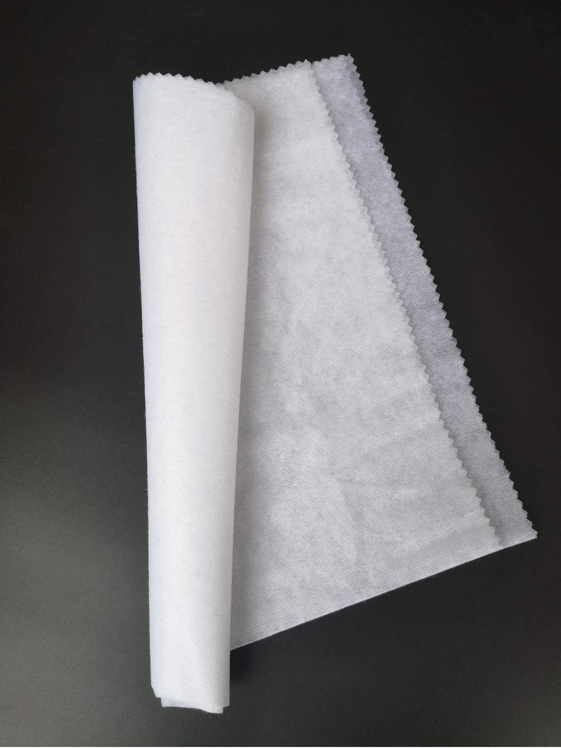 Fusible Interfacing Lightweight Fabric for Quilting Stabilizer T-Shirt,Handmade Face Masks, Nonwoven One Side Fusible, Iron-On Adhesive 39