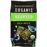 Honest to Goodness Organic Roasted Seaweed Snack - Sea Salt, 4 g