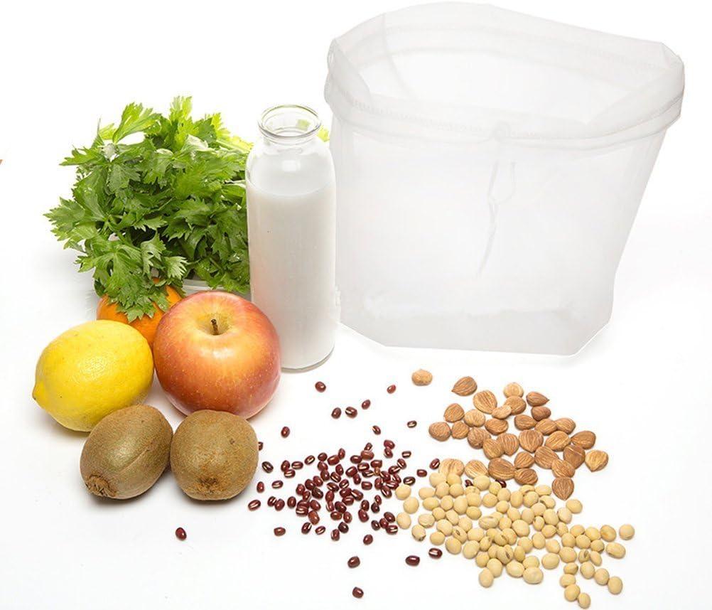 Compra Bestomz - Bolsa para leche vegetal – Colador para queso y ...