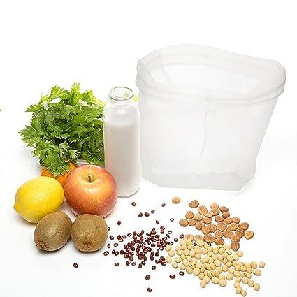 Bestomz - Bolsa para leche vegetal – Colador para queso y alimentos – Leche de almendra