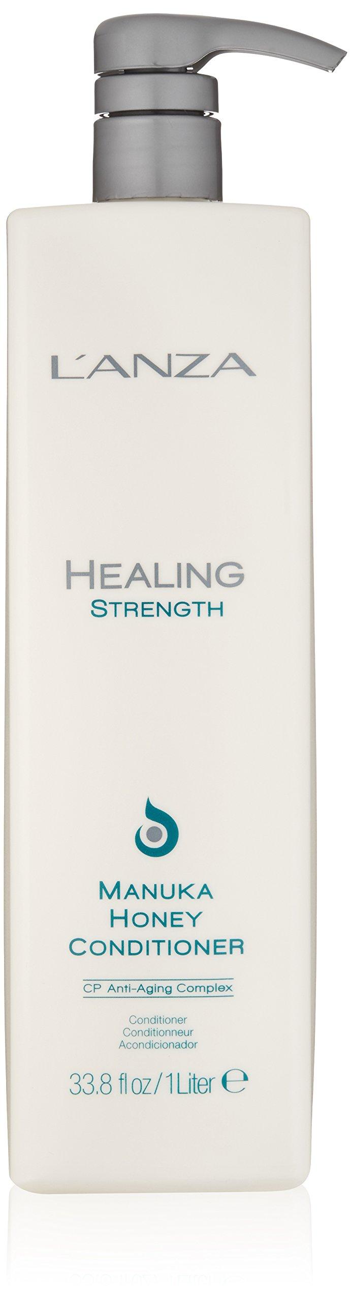 L'ANZA Healing Strength Manuka Honey Conditioner, 33.8 oz.