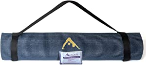 """Aurorae """"ULTRA"""" Super Sized Extra Long 78""""; Extra Wide 26"""" and 1/4"""" Thick for comfort and Safety. Non Slip Rosin and Carry Strap included."""