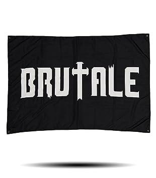 Official Brutale Music Flag 100x150cm