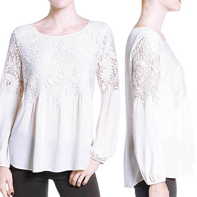 729e65efb29 Binglinghua® Fashion Women Summer Loose Casual Chiffon Long Sleeve ...