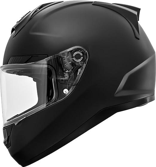 Amazon.com: GDM Duke Helmets DK-346 Full Face Motorcycle Helmet (Matte Black, XL): Automotive