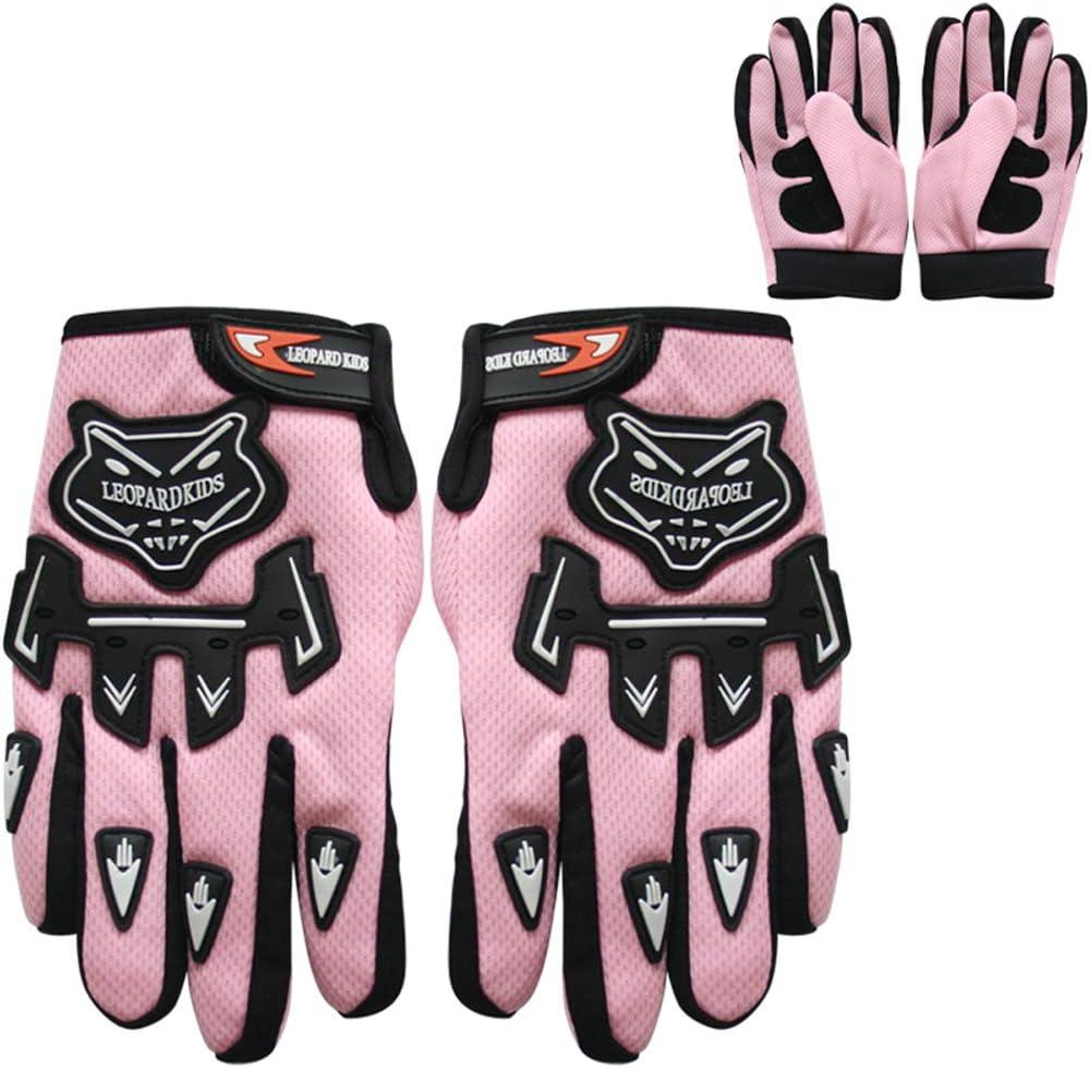 Brille} ECE Genehmigt Crosshelm Kinderquad Off Road Enduro Sport Handschuhe Leopard LEO-X17 Kinder Motocross MX Helm { Motorradhelm
