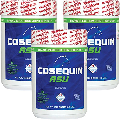 Cosequin 3-Pack ASU Joint Health Supplement Formula for Horses by Cosequin