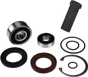 Jet Pump Bearing & Seal Rebuild Kit w/Impeller Tool (Compatible With Kawasaki, Fits 1996-2003 ZXI 1100 & 2002-2004 STX-R 1200)