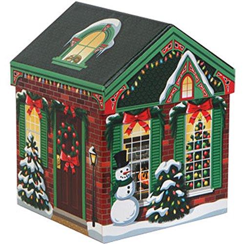 Amazon.com: Set of 4 Christmas Holiday House-Shaped Nested Gift ...
