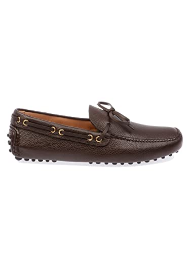 Men's XW8DAINO2F0201 Brown Leather Loafers