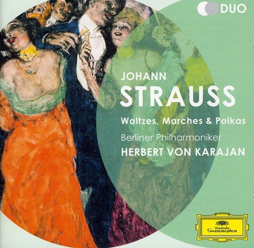 Price comparison product image Johann Strauss: Waltzes Marches & Polkas