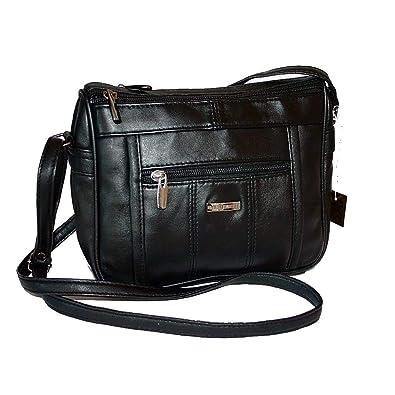 Cluty Gro/ße Gr/ö/ße Leder Damen Handtasche Damen